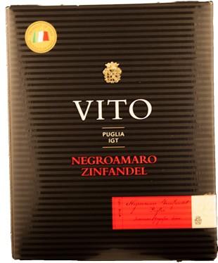 Vit Red Negroamaro Primitivo Puglia Weinschlauch 3 Liter