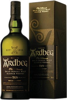 Ardbeg Islay Whisky 10 Years Old