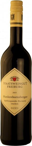 Staatsweingut Freiburg Rotwein Blankenhornsberger Spätburgunder VDP Ortswein vom Kaiserstuhl