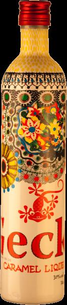Gecko Vodka Caramel Likör 30% Designerflasche 0,5 L.