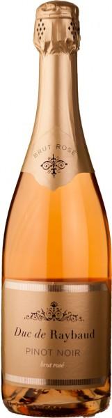 6 Flaschen Duc De Raybaud Crémant Pinot Noir Rosé Brut Provence