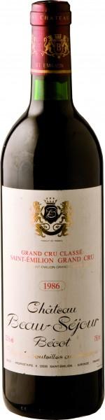 Château Beau Séjour Bécot Premier Grand Cru Classé B 2007
