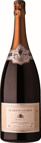 Chapin Grand Saumur Crémant Blanc de Blanc Brut Magnum 1,50 Liter