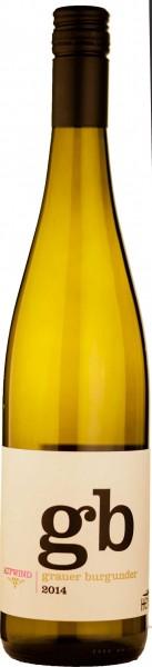6 Flaschen Weingut Hensel Weißwein Grauer Burgunder Aufwind 2016 für 48,60€