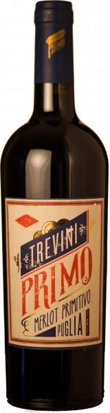 6 Flaschen Trevini Rotwein Primiitivo Merlot Italien