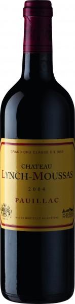 Château Lynch Moussas 2004 Paulliac 5éme Cru Classé