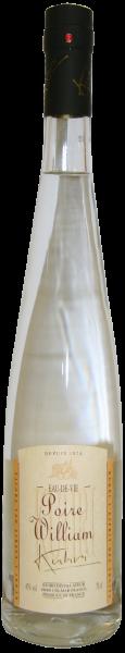 Kuhri Poire Williams Eau de Vie Obstbrand Elsass 45% 0,7L.