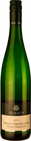 6 Flaschen Selbach Riesling halbtrocken Zeltinger Himmelreich 2018 für 45,00€ statt 47,40€