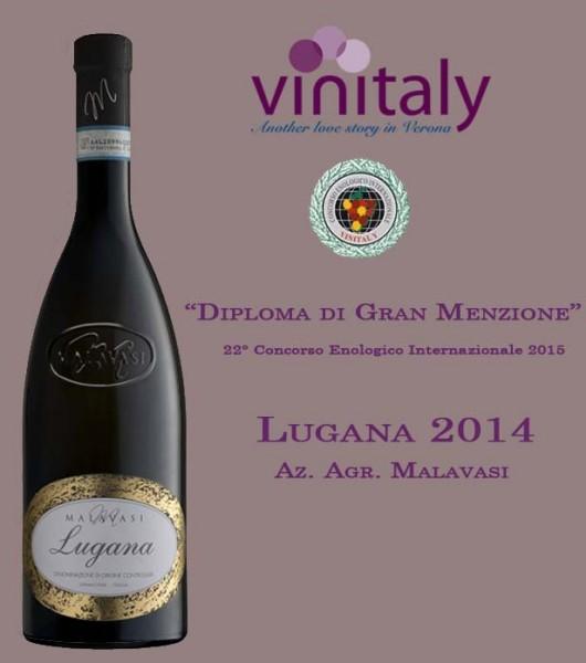 6 Flaschen Malavasi Weisswein Lugana Italien DOC 2017 - bester Lugana der Vinitaly