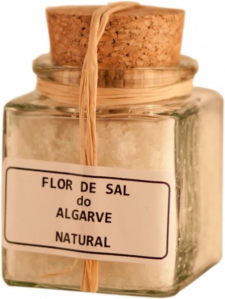 Sal de Flor Natural Salz Algarve 60g Glas