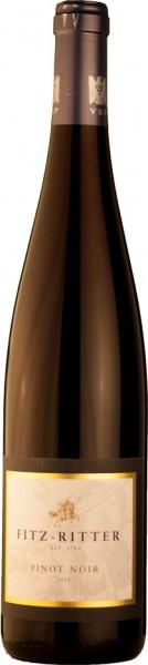 Fitz-Ritter Pinot Noir Rotwein trocken 2017