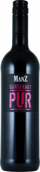 Manz Rotwein Gänsehaut PUR trocken 2015