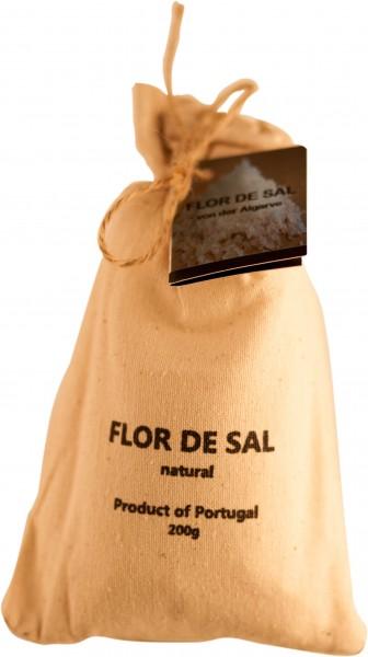Sal de Flor Natural Salz Algarve 200g Sack