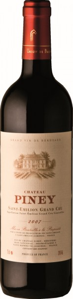 Chateau Piney Grand Cru 2012 Saint Emilion