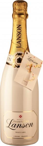 Lanson Champagner White Label sec