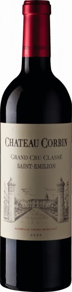 Château Corbin Grand Cru Classé 2006 Saint Emillion
