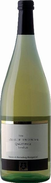 Winzer Herrenberg Grauer Pfalz Burgunder Qualitätswein trocken 1,0 Liter 2017