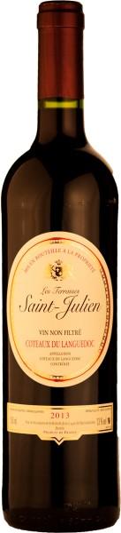 Vigneron Catalan Saint Julien Les Terrasses Rotwein AOC 2016
