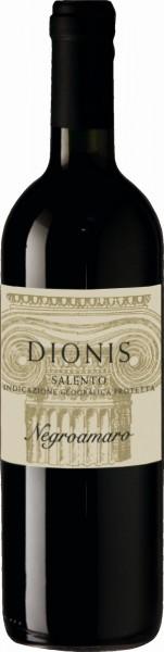 Rotwein Dionis Negroamaro aus Apulien