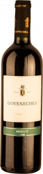 Goyenechea Rotwein Mendozza Merlot 2011