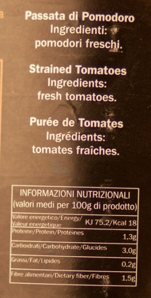Le Gemme del Vesuvio - Passata di Pomodoro - Tomatensauce