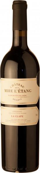 Château Mire L`Étang La Clape Reserve Rotwein AOC 2018