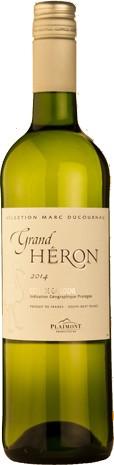 Vigneron Plaimont Grand Heron Blanc Weisswein Gascogne VDP 2019